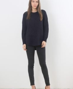 Pulover &Other Stories Navy Wool - FEMEI - PULOVERE DAMA