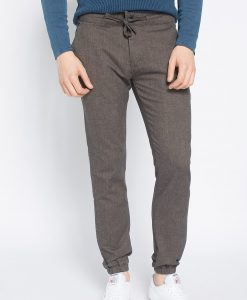 Review - Pantaloni Jog Wool Brown - Îmbrăcăminte - Pantaloni