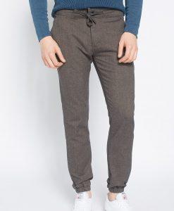 Review - Pantaloni Jog Wool Brown - Îmbrăcăminte - Pantaloni