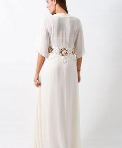 Rochie ASOS Crochet Cream - FEMEI - ROCHII