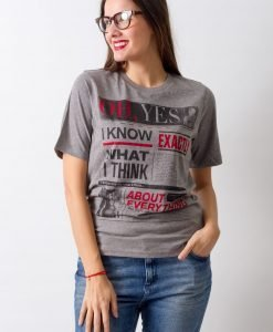 Tricou Cheap Monday Oh Yes - FEMEI - TRICOURI DE DAMA