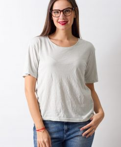 Tricou Weekday Light Green - FEMEI - TRICOURI DE DAMA