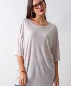 Tricou Weekday Light Grey - FEMEI - TRICOURI DE DAMA