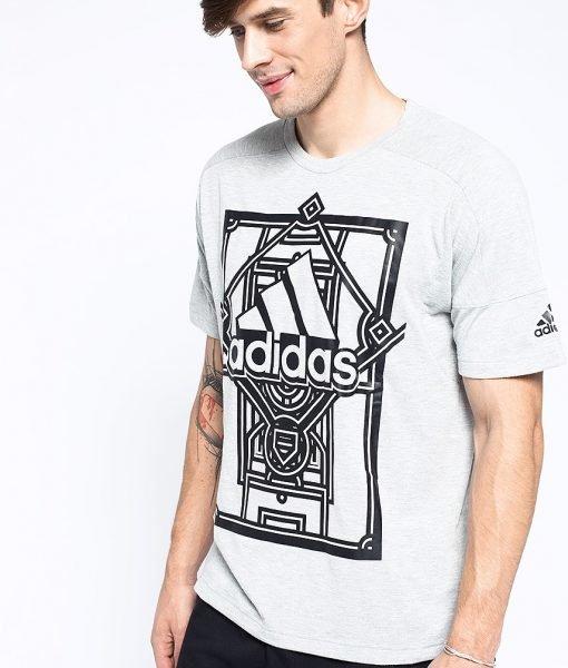 adidas Performance – Tricou Side Aop – Îmbrăcăminte – Tricouri