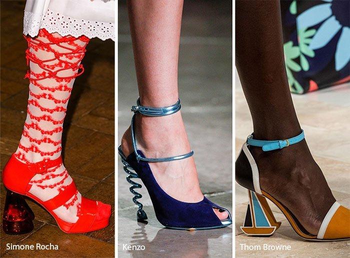 pantofi femei cu toc 2018