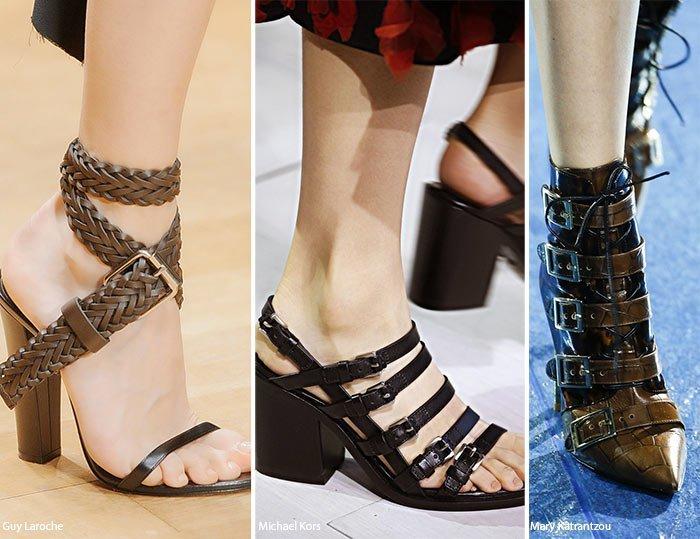 pantofi femei cu catarame 2018
