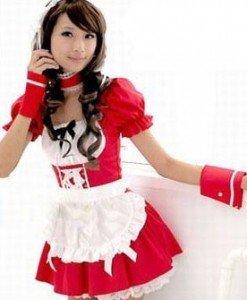 A141 Costum tematic chelnerita - Chelnerita - Haine > Haine Femei > Costume Tematice > Chelnerita