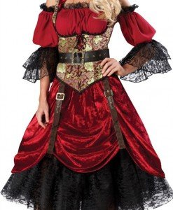 A255 Costum tematic Halloween Pirat - Pirat - Haine > Haine Femei > Costume Tematice > Pirat