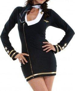 B147 Costum tematic pilot - Armata - Marinar - Haine > Haine Femei > Costume Tematice > Armata - Marinar