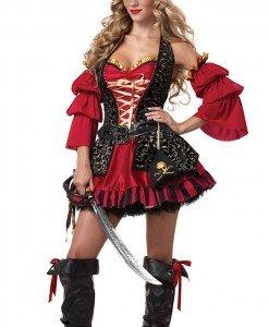 B221 Costum pirat Halloween - Pirat - Haine > Haine Femei > Costume Tematice > Pirat