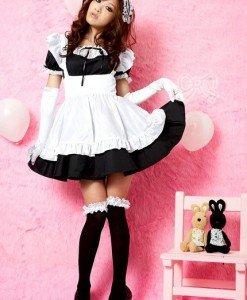B222-1 Costum Halloween menajera - Menajera - Haine > Haine Femei > Costume Tematice > Menajera