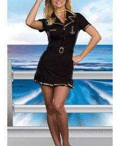 B316 Costum tematic capitan croaziera - Armata - Marinar - Haine > Haine Femei > Costume Tematice > Armata - Marinar