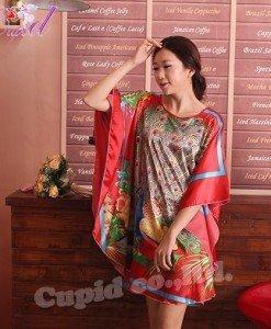 B357-3 Lenjerie eleganta cu maneci largi tip kimono - Halate - Haine > Haine Femei > Lenjerie intima > Halate