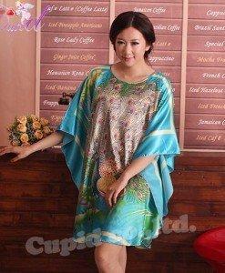 B357-4 Lenjerie eleganta cu maneci largi tip kimono - Halate - Haine > Haine Femei > Lenjerie intima > Halate
