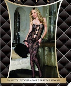 BS14 Bodystocking Sexi Dama - Bodystockings