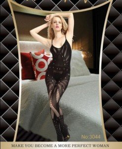 BS33 Bodystocking Dama - Bodystockings