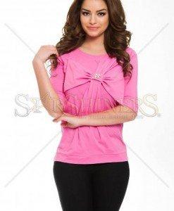 Bluza Artista Middle Ribbon Pink - Bluze -