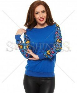 Bluza Cheerful Hands Blue - Bluze -