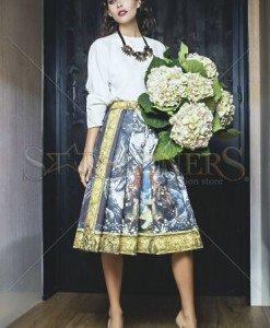 Bluza Daniella Cristea Fashionista White - Bluze -