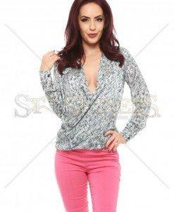 Bluza PrettyGirl Printed Grey - Bluze -