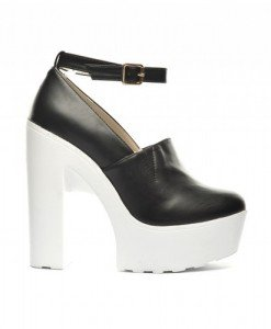 Botine Zaraza Negre - Sandale cu toc - Sandale cu toc