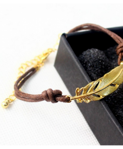 Bratara Gold Feather - Accesorii - 0