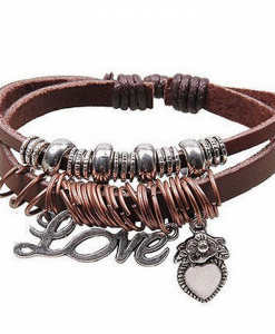 Bratara Retro love bangle - Accesorii - 0