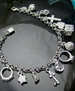 Bratara Silver Pendants - Accesorii - 0