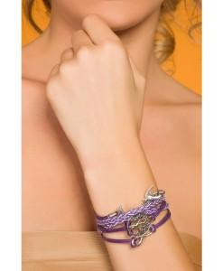 Bratara Violet Peace - Accesorii - 0