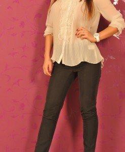 BsK181 Pantaloni cu Curea - Bershka - Haine > Brands > Bershka