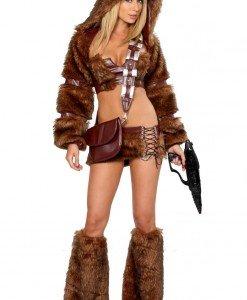 C310-8 Costum Halloween personaj Star Wars Chewbacca - Animalute - Haine > Haine Femei > Costume Tematice > Animalute
