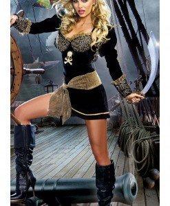 C327 Costum Halloween pirat sexy - Pirat - Haine > Haine Femei > Costume Tematice > Pirat