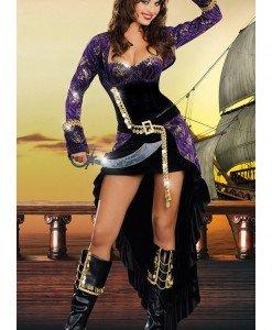 C328 Costum tematic Pirat sexy - Pirat - Haine > Haine Femei > Costume Tematice > Pirat