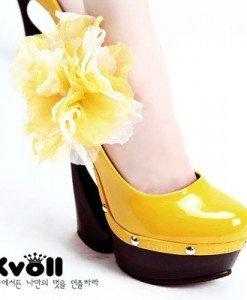 CH1363-A Incaltaminte - Pantofi cu platforma - Pantofi cu platforma - Incaltaminte > Incaltaminte Femei > Pantofi cu platforma