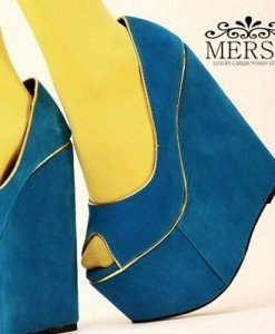 CH1510 Incaltaminte - Pantofi cu platforma - Pantofi cu platforma - Incaltaminte > Incaltaminte Femei > Pantofi cu platforma