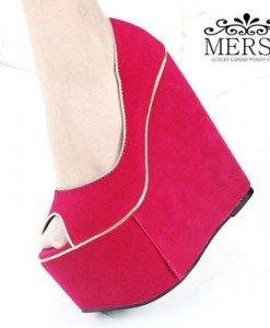 CH1512 Incaltaminte - Pantofi cu platforma - Pantofi cu platforma - Incaltaminte > Incaltaminte Femei > Pantofi cu platforma
