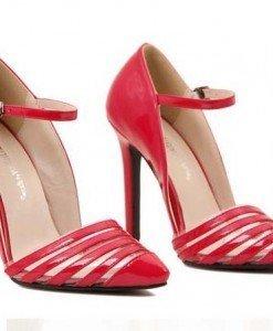 CH2266-3 Pantofi eleganti tip stiletto cu catarama - Pantofi Dama - Incaltaminte > Incaltaminte Femei > Pantofi Dama