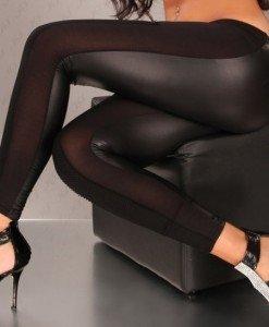 CL323-1 Colanti mulati din vinil - Colanti - Haine > Haine Femei > Costume latex si PVC > Colanti
