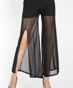 CL368-1 Pantaloni largi cu plasa