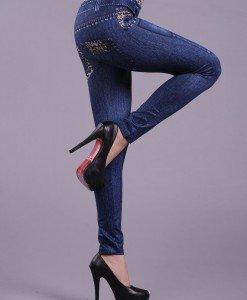 CL5 Colanti cu talie inalta si model - Colanti - Haine > Haine Femei > Pantaloni Dama > Colanti