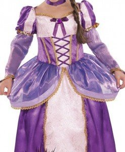 CLD10-10 Costum Halloween copii - printesa Rapunzel - Costume tematice - Haine > Haine Copii > Costume tematice