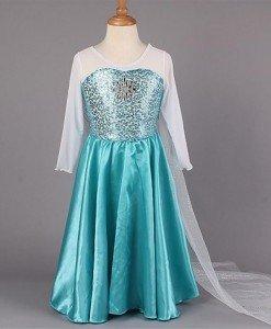 CLD18-4 Costum Halloween copii - Elsa Frozen - Costume tematice - Haine > Haine Copii > Costume tematice