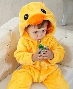 CLD40-9 Salopeta ratusca pentru copii cu material polar - Costume tematice - Haine > Haine Copii > Costume tematice