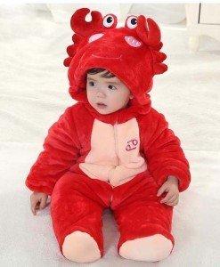 CLD50-3 Salopeta zodia rac pentru copii - Costume tematice - Haine > Haine Copii > Costume tematice
