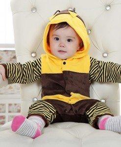 CLD67 Salopeta albinuta pentru copii - Costume tematice - Haine > Haine Copii > Costume tematice