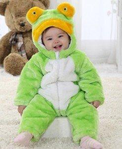 CLD73-12 Salopeta broscuta pentru copii - Costume tematice - Haine > Haine Copii > Costume tematice