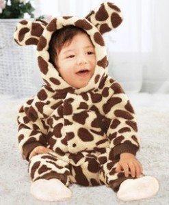 CLD79-99 Salopeta girafa pentru copii - Costume tematice - Haine > Haine Copii > Costume tematice