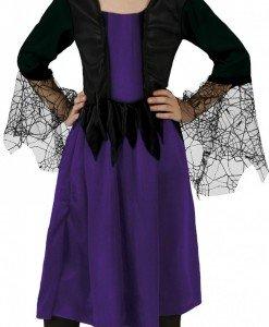 CLD8-10 Costum Halloween copii - Vrajitoarea paianjen - Costume tematice - Haine > Haine Copii > Costume tematice