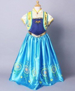 CLD86-4 Costum tematic printesa Anna Frozen - Basme si Legende - Haine > Haine Femei > Costume Tematice > Basme si Legende