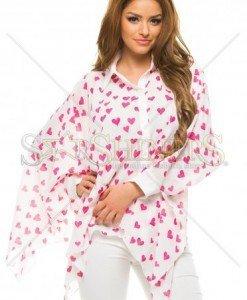 Camasa Artista Lovely Print Pink - Camasi -